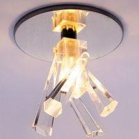Светильник точечный встраиваемый Italmac Ice 12 6 05 JC хром 50 Вт