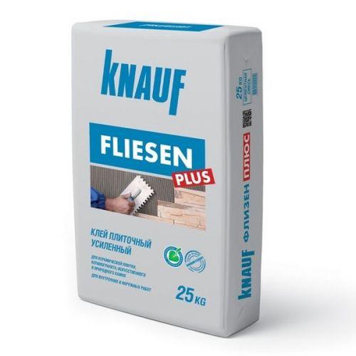 Клей для плитки Knauf Флизен Плюс усиленный 25 кг