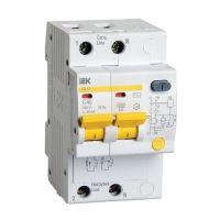 Автоматический выключатель дифференциального тока IEK АД12 2Р 25А 10мА