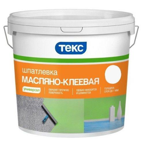 Шпатлевка масляно-клеевая Текс Универсал 16 кг