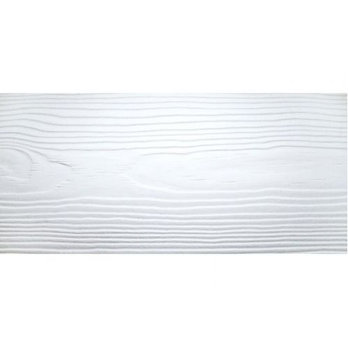 Сайдинг Cedral Wood C01 Белый минерал 3600х190 мм