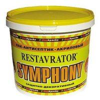Лак-антисептик Symphony Restavrator глянцевый ЕР 9 л