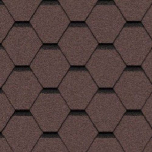 Черепица гибкая Icopal Plano Tema коричневая