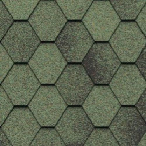 Черепица гибкая Icopal Plano Antik Зеленый Лес