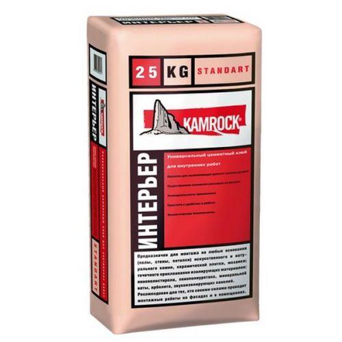 Клей для камня KR Professional Standart Интерьер 25 кг