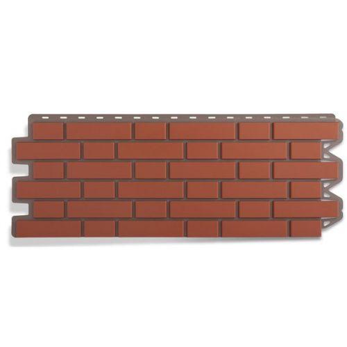Панель фасадная Альта Профиль Кирпич клинкерный красный 1220х440 мм