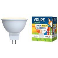 Лампа светодиодная Volpe Optima LED-JCDR-5W/WW/GU5.3/O