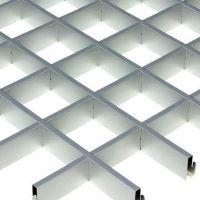 Потолок грильято Cesal CL Эконом 120х120х37 мм