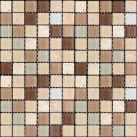 Мозаика из стекла и мрамора Natural Madras MSD-419