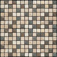 Мозаика из мрамора Natural Antico PFM-2001