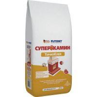 Клей для облицовки печей и каминов Plitonit Суперкамин Термоклей 5 кг
