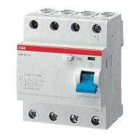 Выключатель автоматический дифференциального тока ABB F204 63A 30mA AC