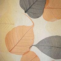 Обои натуральные Дизайн Тропик покрытие Листья PWF-24