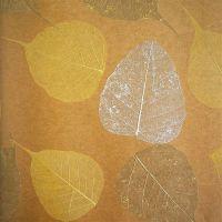 Обои натуральные Дизайн Тропик покрытие Листья PWF-58