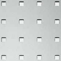 Стеновая панель Sibu Punch Line Q 10-40-40 Silver PF met 2600х1000 мм