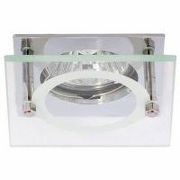 Светильник точечный встраиваемый Italmac Quartz 51 4 05 MR16 хром 50 Вт