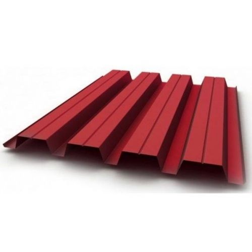 Профнастил Н60 Grand Line Optima Satin 0,5 мм RAL 3003 рубиново-красный
