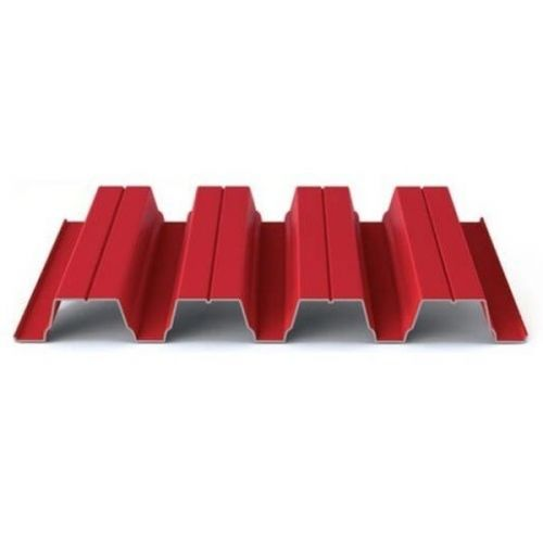 Профнастил Н75 Grand Line Optima Pe 0,7 мм RAL 3003 рубиново-красный