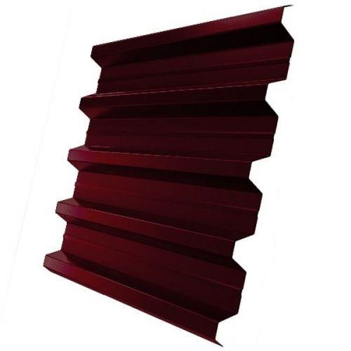 Профнастил Н60 Grand Line Optima Satin 0,5 мм RAL 3005 винно-красный