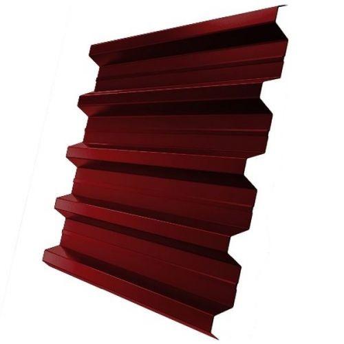 Профнастил Н60 Grand Line Pe 0,5 мм RAL 3011 коричнево-красный