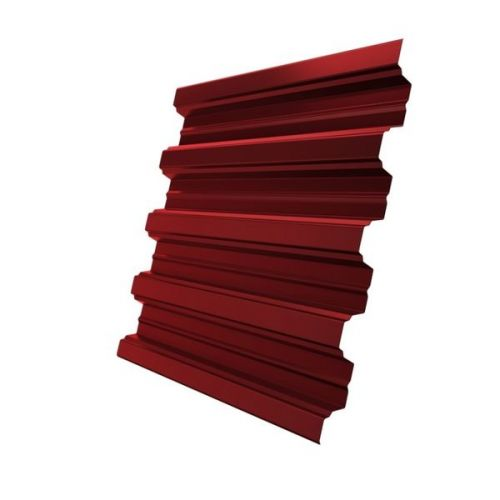 Профнастил Н75 Grand Line Optima Pe 0,7 мм RAL 3011 коричнево-красный