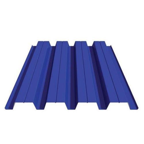 Профнастил Н60 Grand Line Optima Satin 0,5 мм RAL 5002 ультрамариново-синий