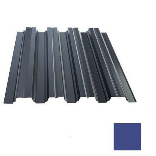 Профнастил Н75 Grand Line Optima Pe 0,8 мм RAL 5002 ультрамариново-синий