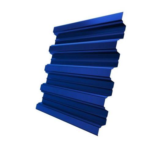 Профнастил Н75 Grand Line Optima Pe 0,7 мм RAL 5005 сигнальный синий
