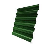 Профнастил НС35 Grand Line Pe 0,5 мм RAL 6002 лиственно-зеленый