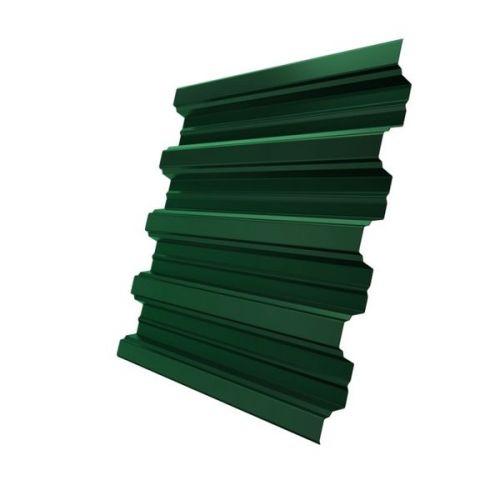 Профнастил Н75 Grand Line Optima Pe 0,8 мм RAL 6005 зеленый мох