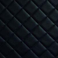 Стеновая панель Sibu Leather Line Rombo 40 Nero 2612х1000 мм самоклеящаяся