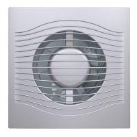 Вентилятор осевой вытяжной Slim 4C gray metal диаметр 100 мм