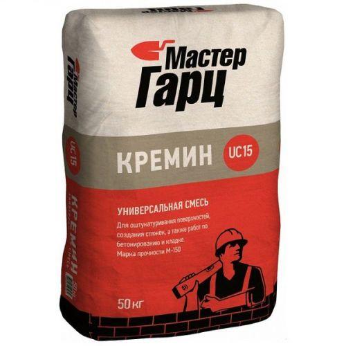 Смесь универсальная Мастер Гарц М-150 Кремин UC15 50 кг