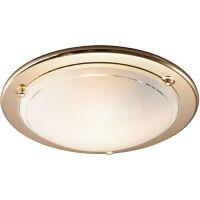Светильник настенно-потолочный Sonex Riga 115 золото E27 100W 220V