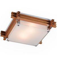 Светильник настенно-потолочный Sonex Trial 2241 коричневыйE27 2х60W 220V