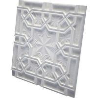 Дизайнерская 3D панель из гипса Artpole Sultan 600х600 мм