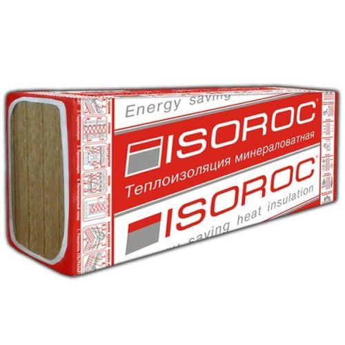 Базальтовая вата Isoroc Изолайт 1000х500х100 мм 4 штуки в упаковке