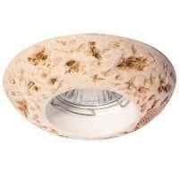 Светильник точечный встраиваемый Italmac Verona 51 23 20 MR16 античный камень 50 Вт