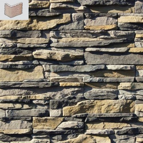 Угловой элемент White Hills Уорд Хилл 130-85 серый