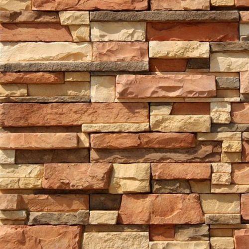 Искусственный камень White Hills Уайт Клиффс 150-50 оранжевый