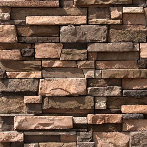 Искусственный камень White Hills Уайт Клиффс 152-90 коричневый