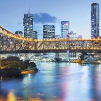 Фотообои флизелиновые Komar Brisbane XXL2-010 3,68х1,24 м