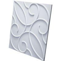 Дизайнерская 3D панель из гипса Artpole Zafira 600х600 мм