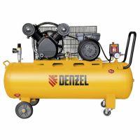 Компрессор DRV2200/100, масляный ременный, 10 бар, производительность 440 л/м, мощность 2,2 кВт Denzel - 58088