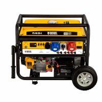 Генератор бензиновый PS 90 ED-3, 9.0 кВт, переключение режима 230 В/400 В, 25 л, электростартер Denzel - 946944