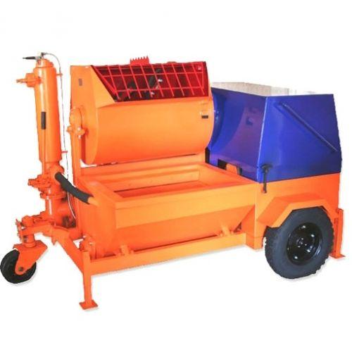Агрегат штатурно-смесительный АШС-2500 2,5 м3/ч, 6, 25 кВт, 380 В, 1,47 МПа, подача гор/вер 100/30 м - 97414