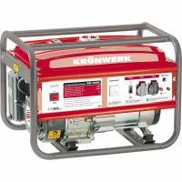 Генератор бензиновый KB 5000, 5.0 кВт, 220 В/50 Гц, 25 л, ручной старт Kronwerk - 94693