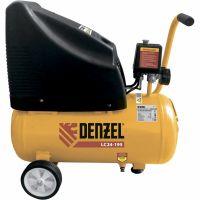 Компрессор воздушный безмасляный LC 24-195, 1,1 кВт, 195 л/мин, 24 л, 8 бар Denzel - 58072