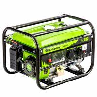 Генератор бензиновый БС-3500, 3,2 кВт, 230В, четырехтактный, 15 л, ручной стартер Сибртех - 94544
