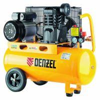 Компрессор масляный PC 2/50-400, Х-Pro, ременный, 10 бар, производительность 400 л/мин, 2,3 кВт, 220В Denzel - 58094